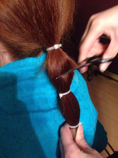 как сдать волосы